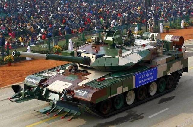 印度研发了48年的阿琼坦克打破多项