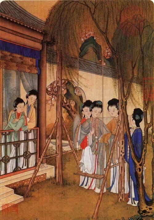 现代女人休闲只有逛吃逛吃,看看古代女子都有什么休闲娱乐?