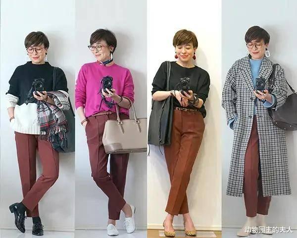 原创             50岁日本博主的搭配法则 经得起考验的基本款+个性配饰