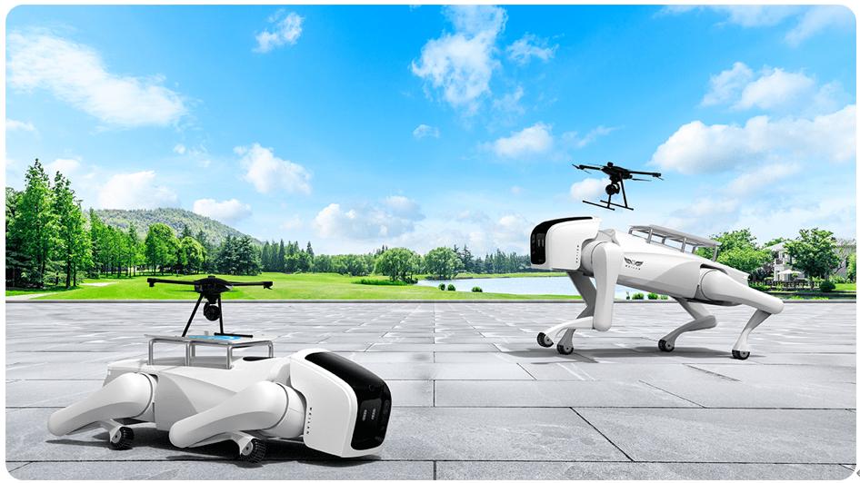 跑出4.07米/秒!超越MIT!蔚蓝科技机器狗运动性能再突破!
