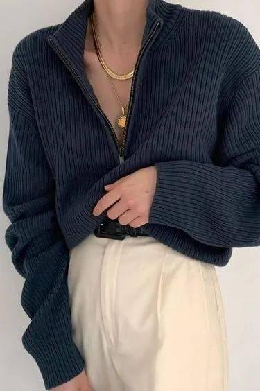 """原創是時候穿""""薄毛衣""""了!這幾款春天照著穿,巨巨巨好看!"""