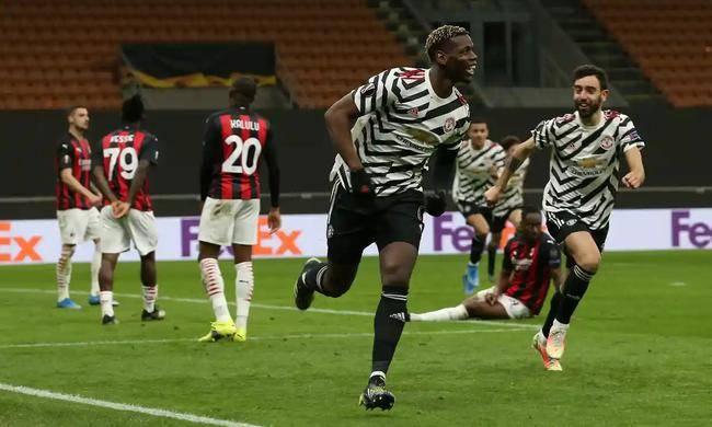 博格巴制胜,曼联客场1-0米兰总比分2-1晋级欧联杯8强_伊布
