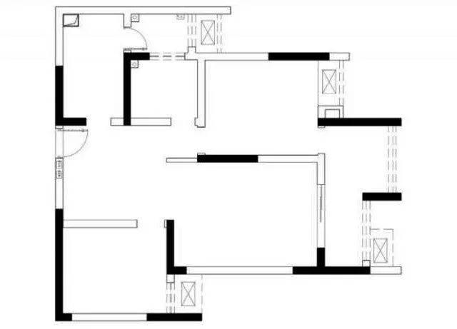 萬裝修88平兩室,全屋木地板,滿滿的柜子,舒適實用