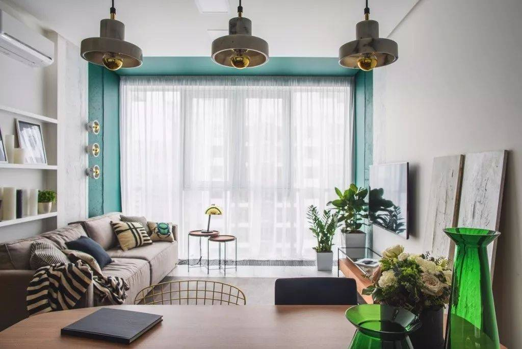 媳妇把新房装修成绿色,没想到效果很惊艳,网友:你老公知道吗?