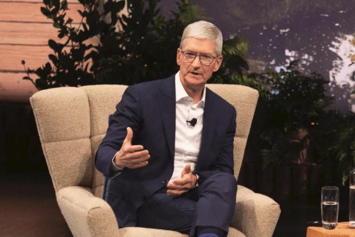 """关于""""造车"""",库克终于透露了一点苹果的想法"""