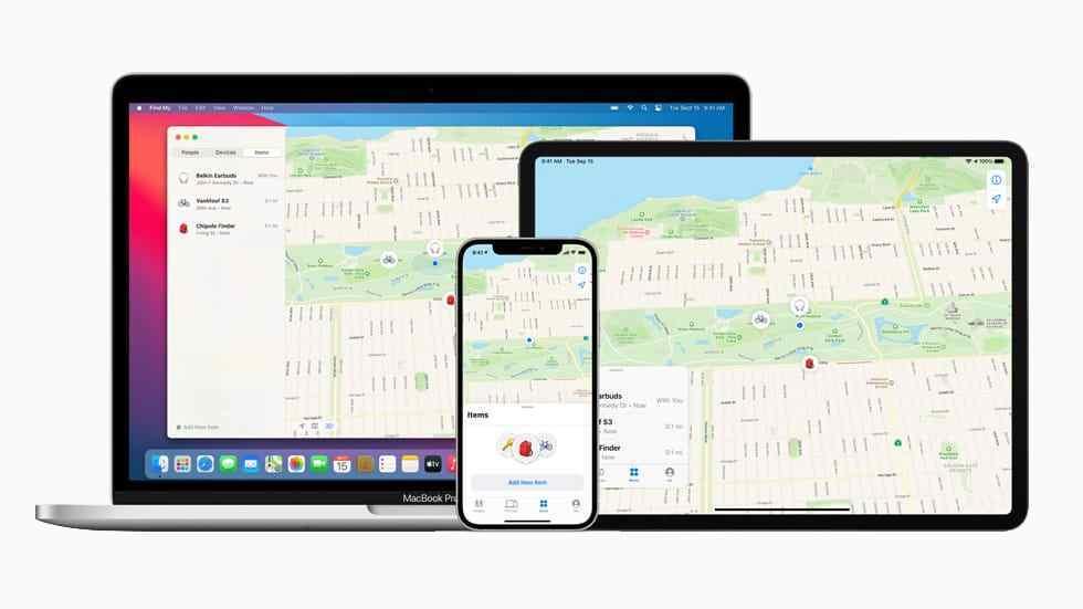 苹果「Find My」功能可找回失物 内置安全功能全程匿名保护