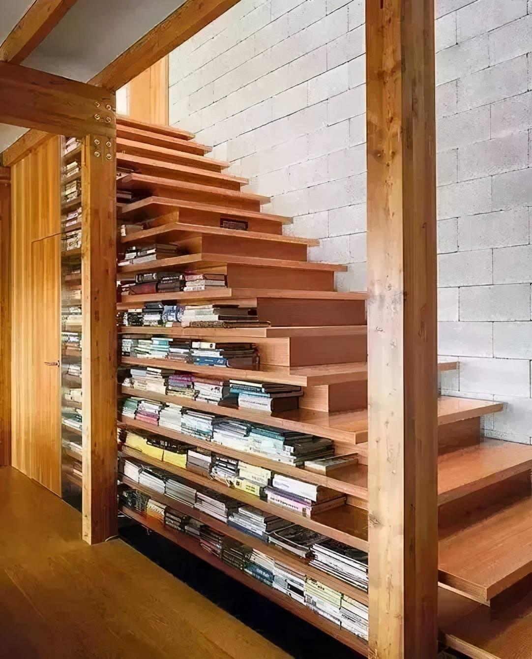 家里的书架这样造,邻居看了都纷纷模仿