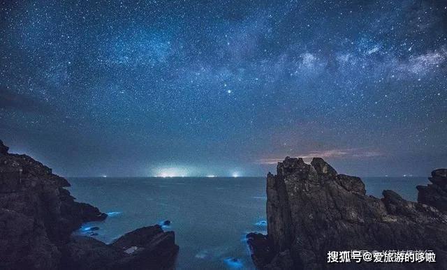 小众海岛迎来蓝眼泪爆发期!一到夜晚变身荧光海,梦幻到尖叫!