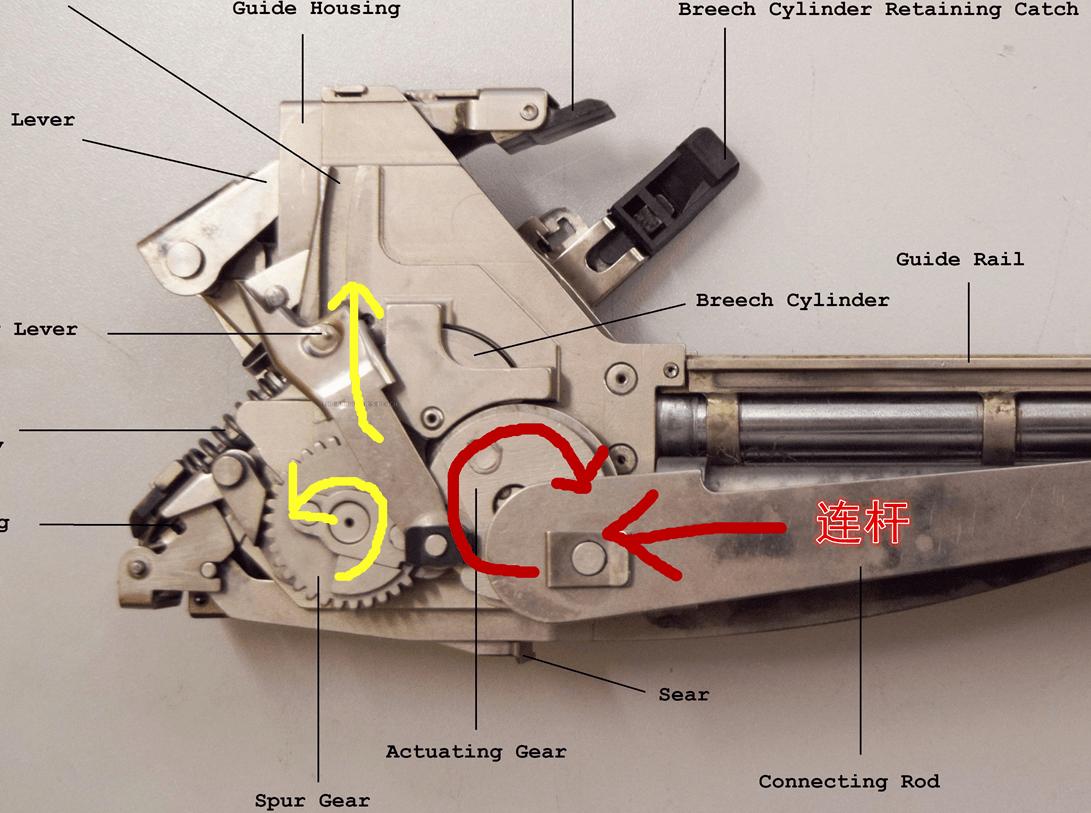 无壳步枪的工作原理