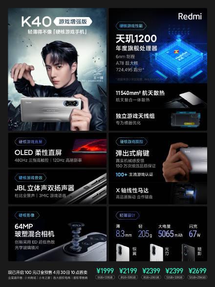 原创             真我GT Neo阻击失败,红米K40游戏版首销,1分钟破10万台