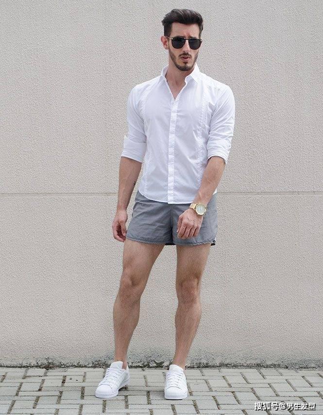"""夏天短裤那么多 还是这条""""四分裤""""时髦百搭 这样穿更显魅力 爸爸 第13张"""