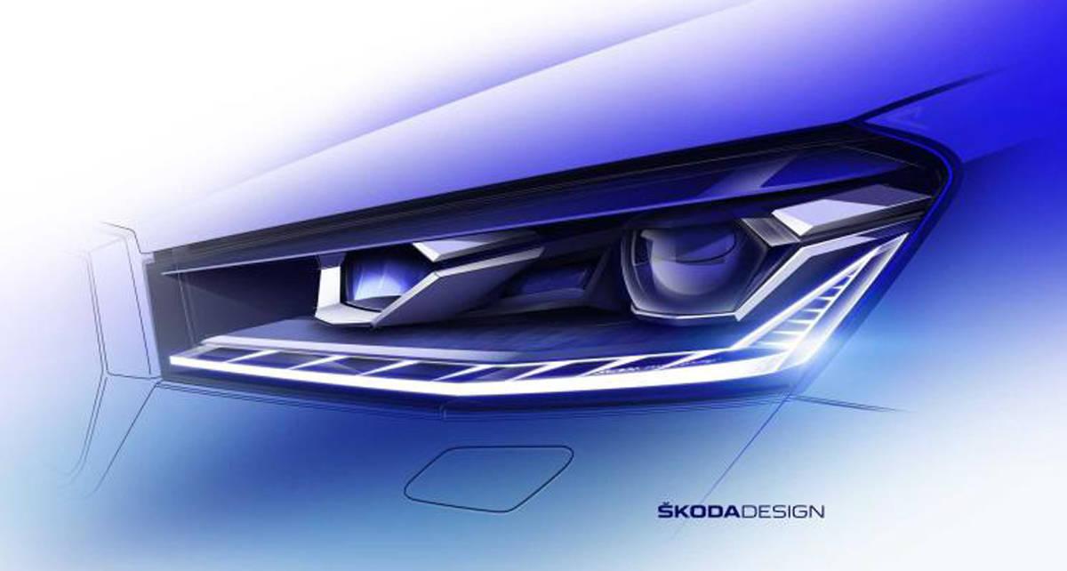 尺寸升级 全新一代斯柯达晶锐将于5月4日发布