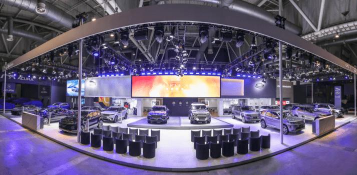 捷豹路虎携多款车型亮相2021苏州五一国际车展bdf