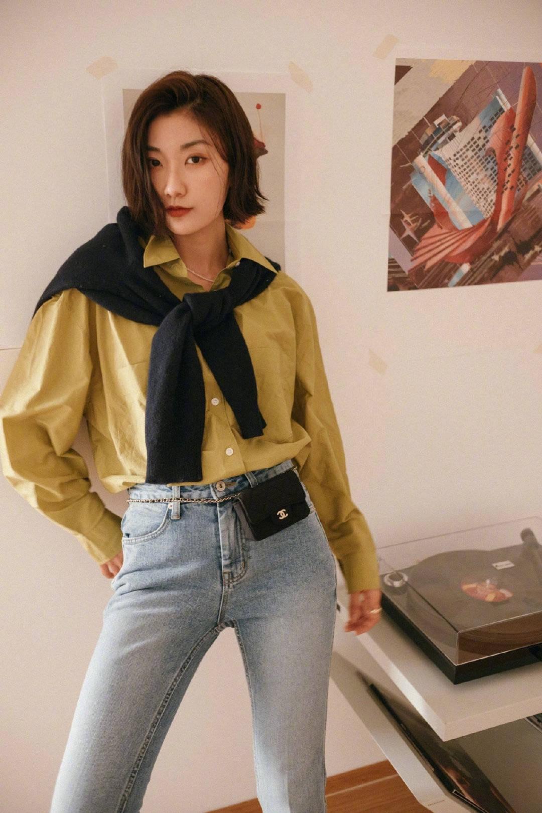 原创             普通平凡的衬衣如何带来时髦感?谜底就在于此单品的搭配法则