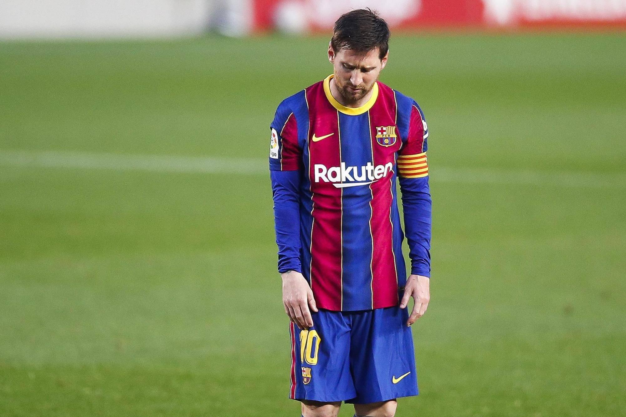 梅西太难了!连过7人未破门无缘西甲冠军,或错失金球奖