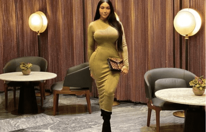 【印度美女臀围】140斤的印度美女,展示啥叫饱满的性感