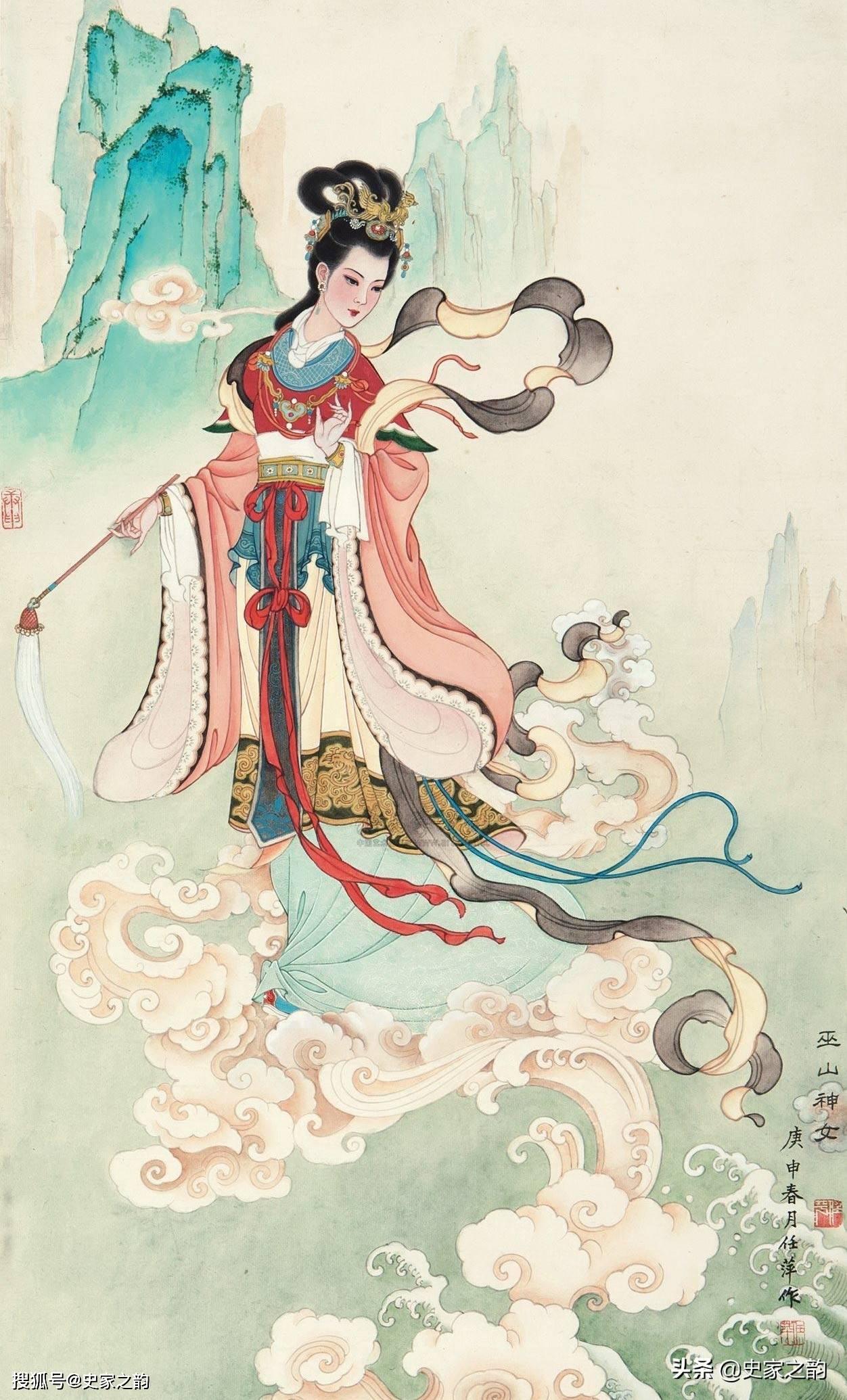 上古传说:炎帝有四个女儿,前三个相继成仙,最小的女儿成鸟