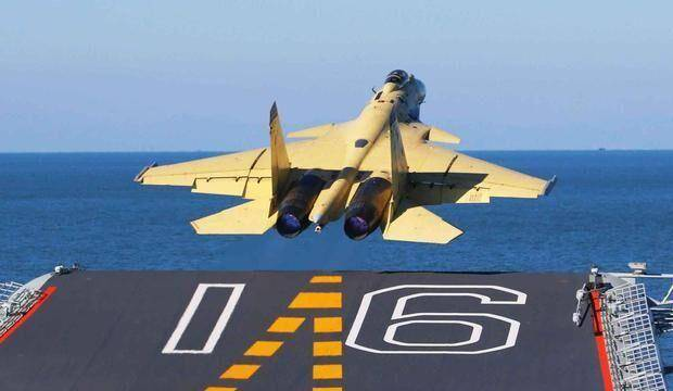 Chinese J-15 carrier-based fighter