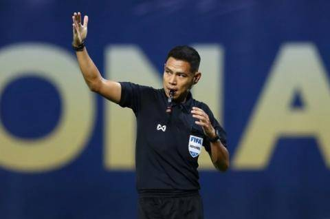 國足世預賽首戰主裁敲定 泰國金哨曾執法多場中超聯賽