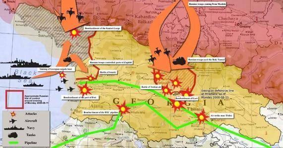 受西方唆使,烏克蘭與格魯吉亞想聯合反擊俄羅斯,能否成功?