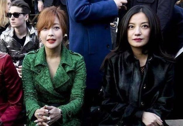 当43岁金喜善遇上44岁赵薇,两人看起来好有气质真让人羡慕