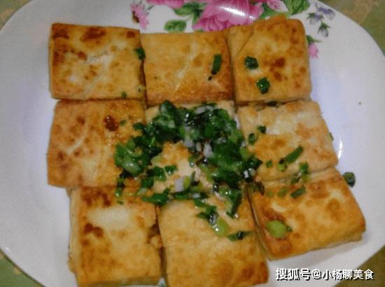 原創             煎豆腐時,不要直接下鍋,教你一招,豆腐入味不粘鍋