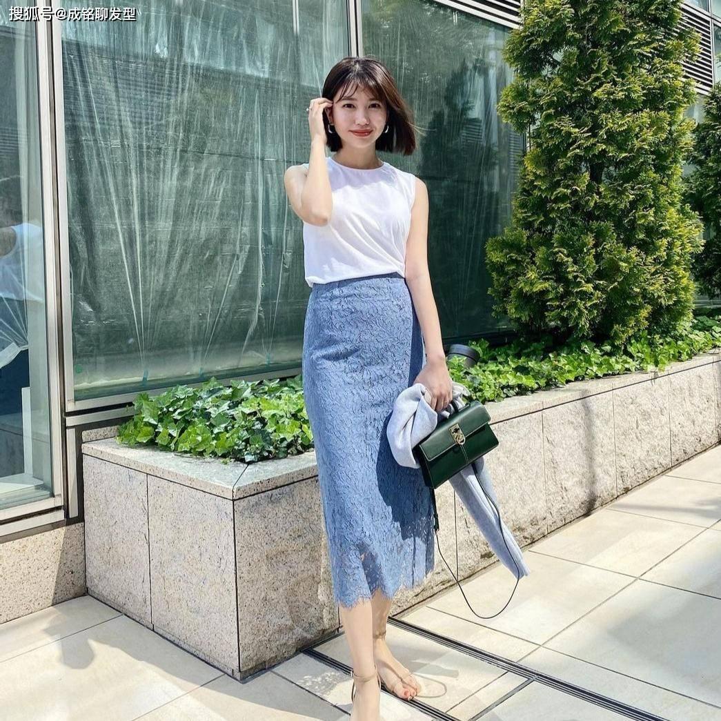 轻熟女人的夏季简约穿搭,掌握这些单品和配色就足够简单和高级了