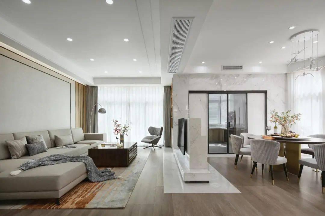 别墅非得装得壕气?440㎡大房子,实用朴素设计,装出格调气质