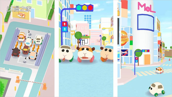 大人气动画《PUI PUI 天竺鼠车车》宣布手机游戏化7月内正式开服