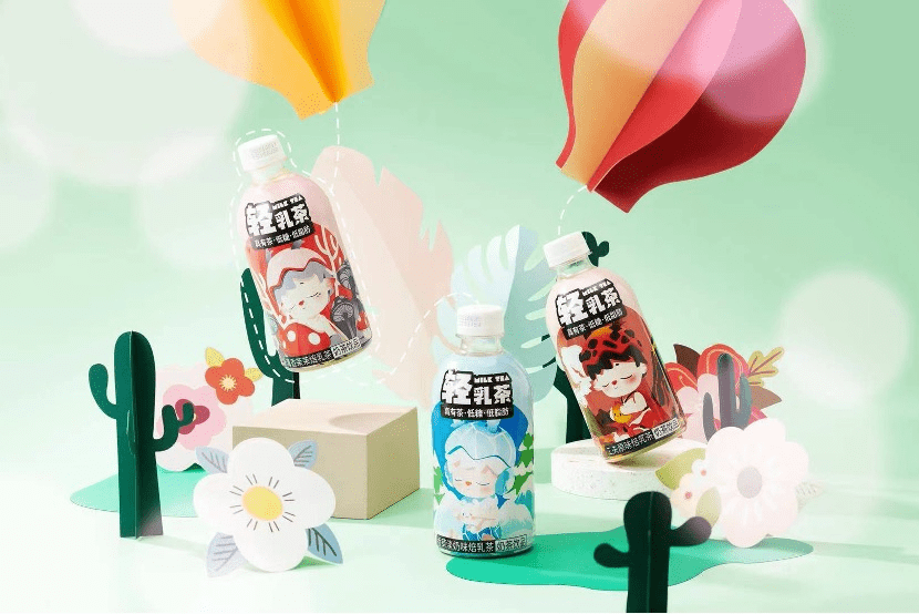除了真有茶,Bestinme悦己未来跨界潮玩推出轻乳茶MIMI联名款
