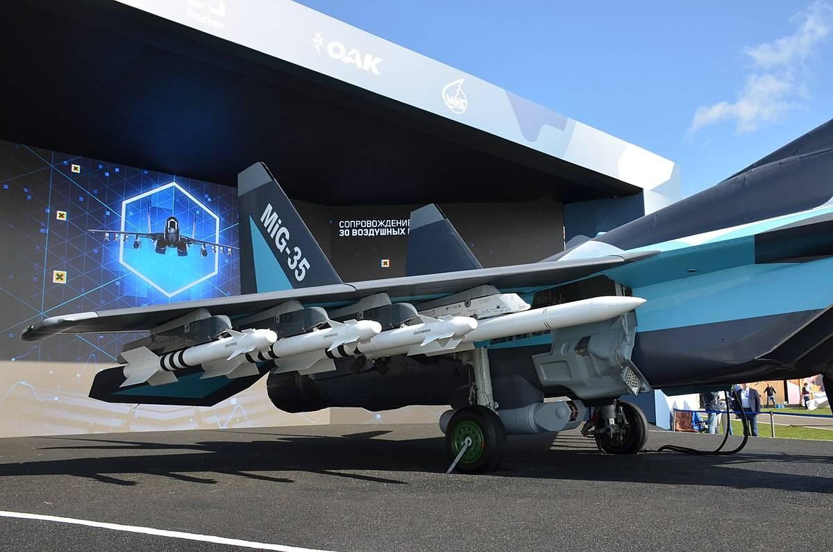 俄罗斯军队买不起的新战斗机,非常尴尬的米格-35
