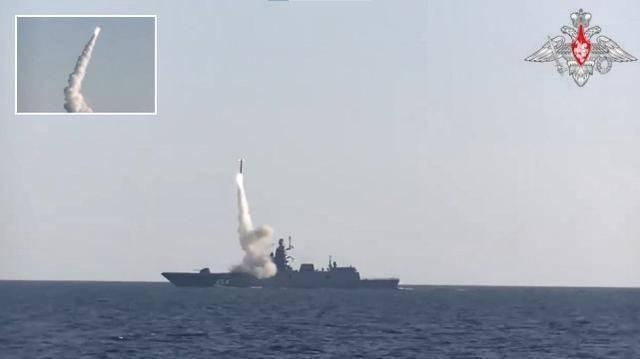 """舰艇不行导弹补!俄罗斯试射""""锆石"""",反舰导弹进入高超声速时代"""