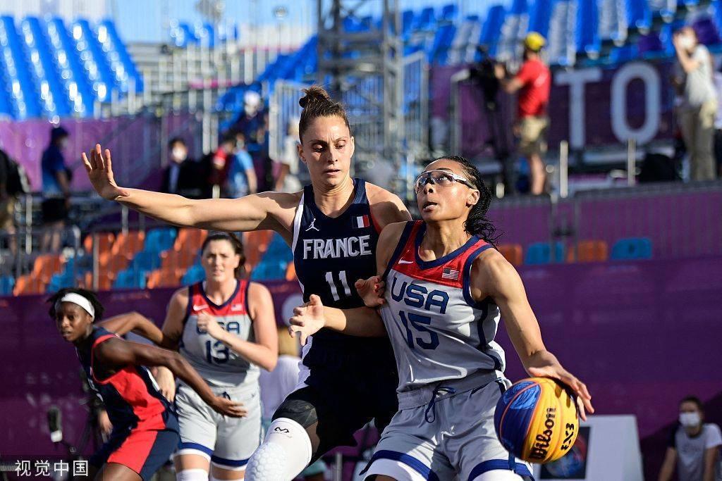 三对三女篮-美国胜俄罗斯夺金 中国摘铜牌创纪录