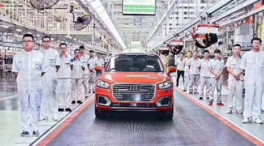 离梦想最近的豪华SUV,奥迪Q2L即将来袭,正式量产下线!