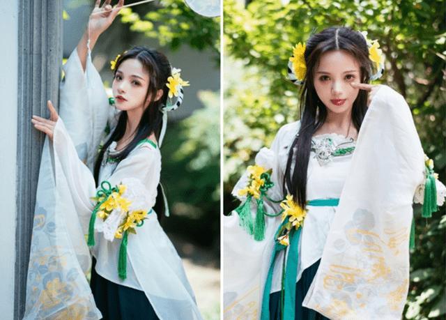 图片[7]-中国古风与洛丽塔的碰撞!顶级Lo娘谢安然实力演绎另类裙子,美如画-妖次元