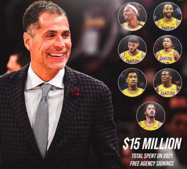 NBA-1交易+8签约!湖人官宣达成,新援号码确定,全新阵容引关注_天天体育登录