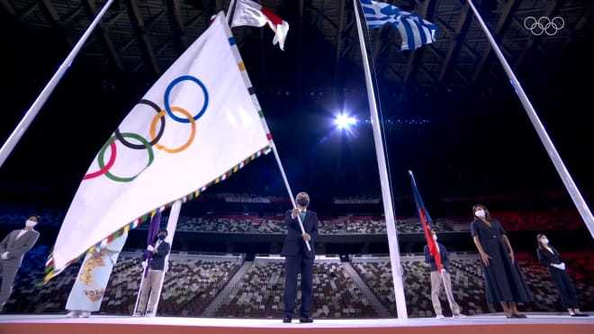 奥运会闭幕式:法国国歌马赛曲奏起 交接仪式结束_牛牛棋牌主管