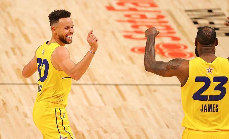 NBA新赛季的几个期待:库里2万分;保罗2万+1万;詹姆斯3万+1万+1万