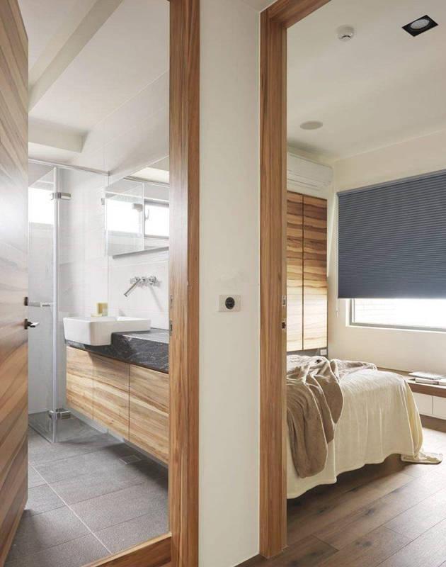 连接着卧室的生活阳台与卫生间,装修时需要做好这些事