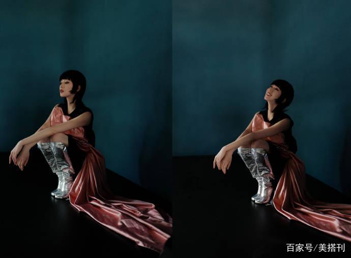 刘诗诗最新大片,挑战鲻鱼头造型,短发齐刘海很个性却少了辨识度