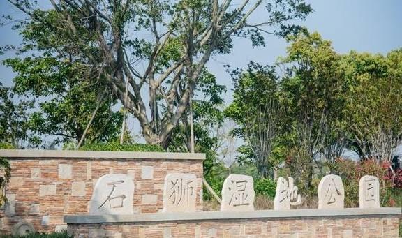 原创             脏乱差的围堰养殖场大变身,石狮湿地公园风景独好,免费开放