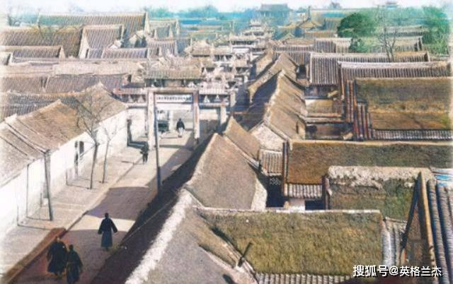"""原创             山东老照片,1932年城市""""历史风貌"""",这些场景你都认得不?"""