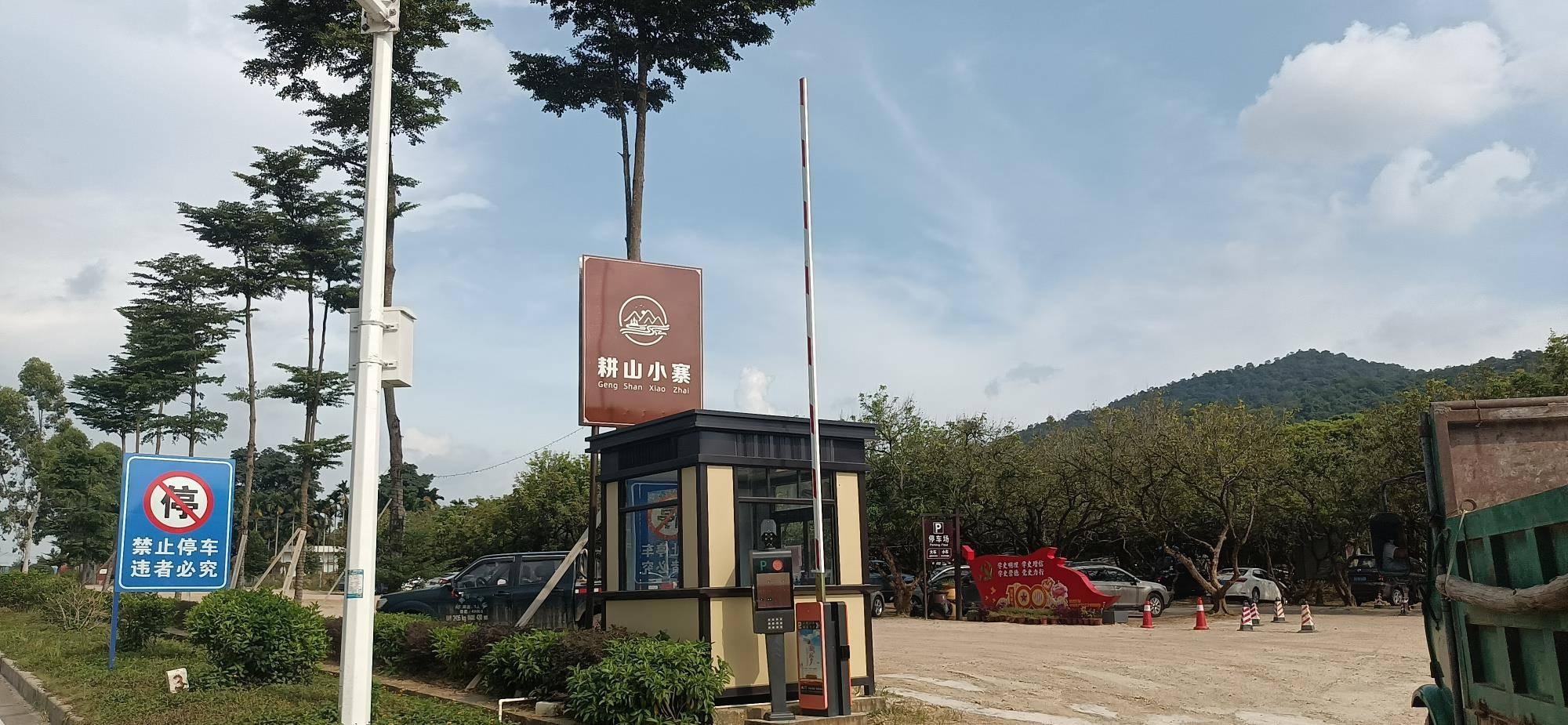 东莞与惠州交界有一座少有人知的景区,路边的绿皮火车格外吸睛