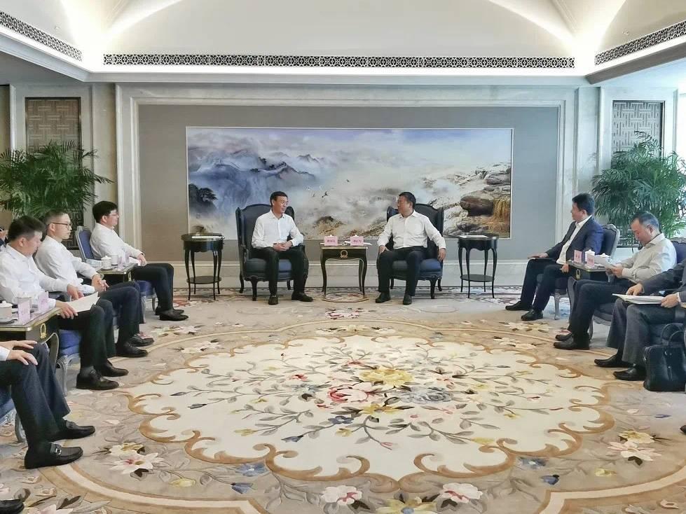褚银良带队赴京招商引资 鄞州与中信集团子公司联合体签署合作框架协议