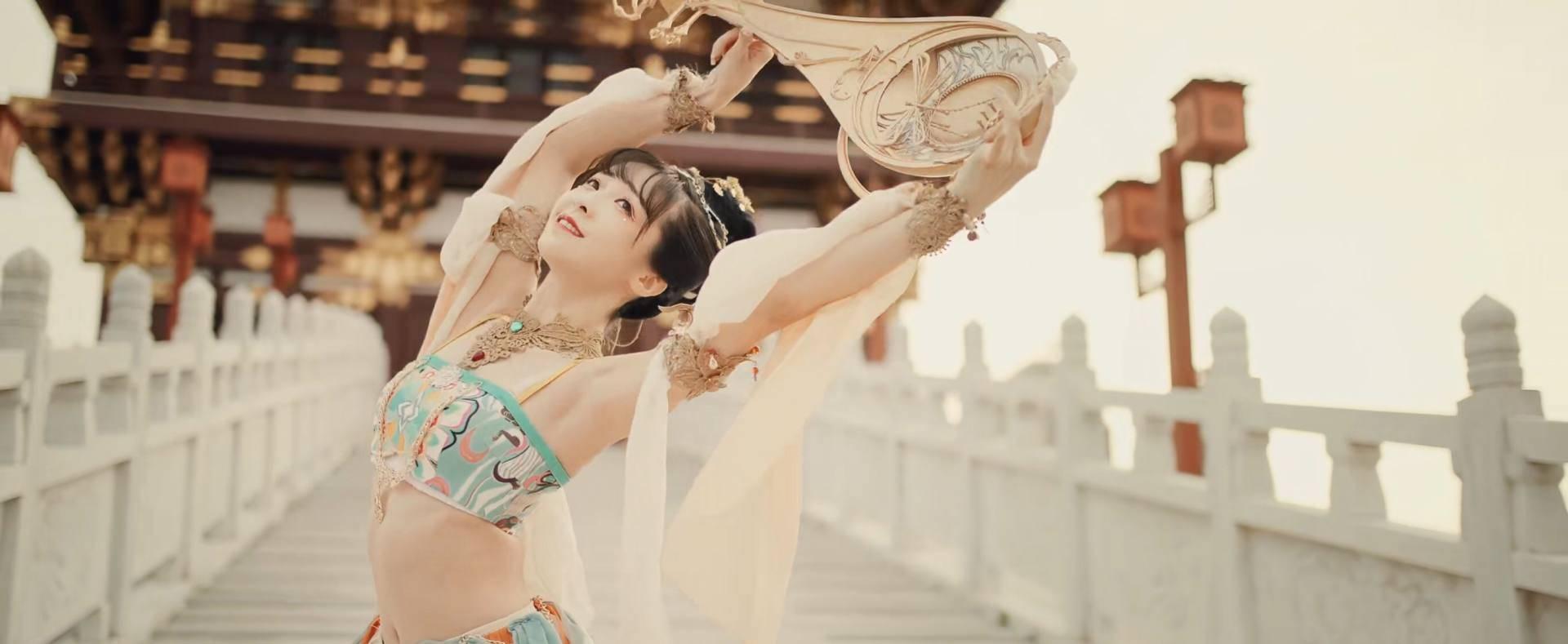图片[4]-网红不配跳国家队舞蹈?95后妹子却因一曲翻跳登上河南卫视-妖次元