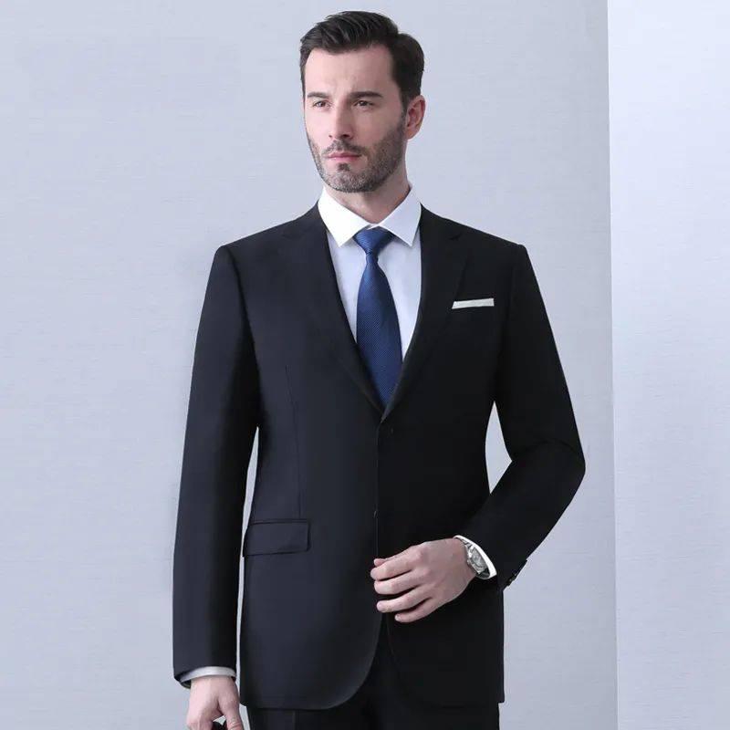 西装款式也不是随便选,这样子穿起来更好看!