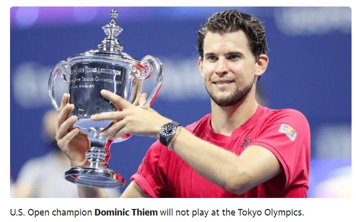 蒂姆颁布发表退出东京奥运会 等待温网出彩美网卫冕_KU游官网