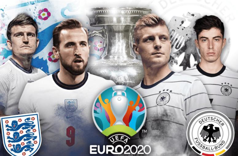 欧洲杯1/8决赛直播:英格兰vs德国 三狮军团激战日耳曼战车展开豪门争霸!