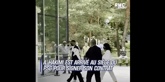 阿什拉夫已经抵达大巴黎总部 双方即将正式签约