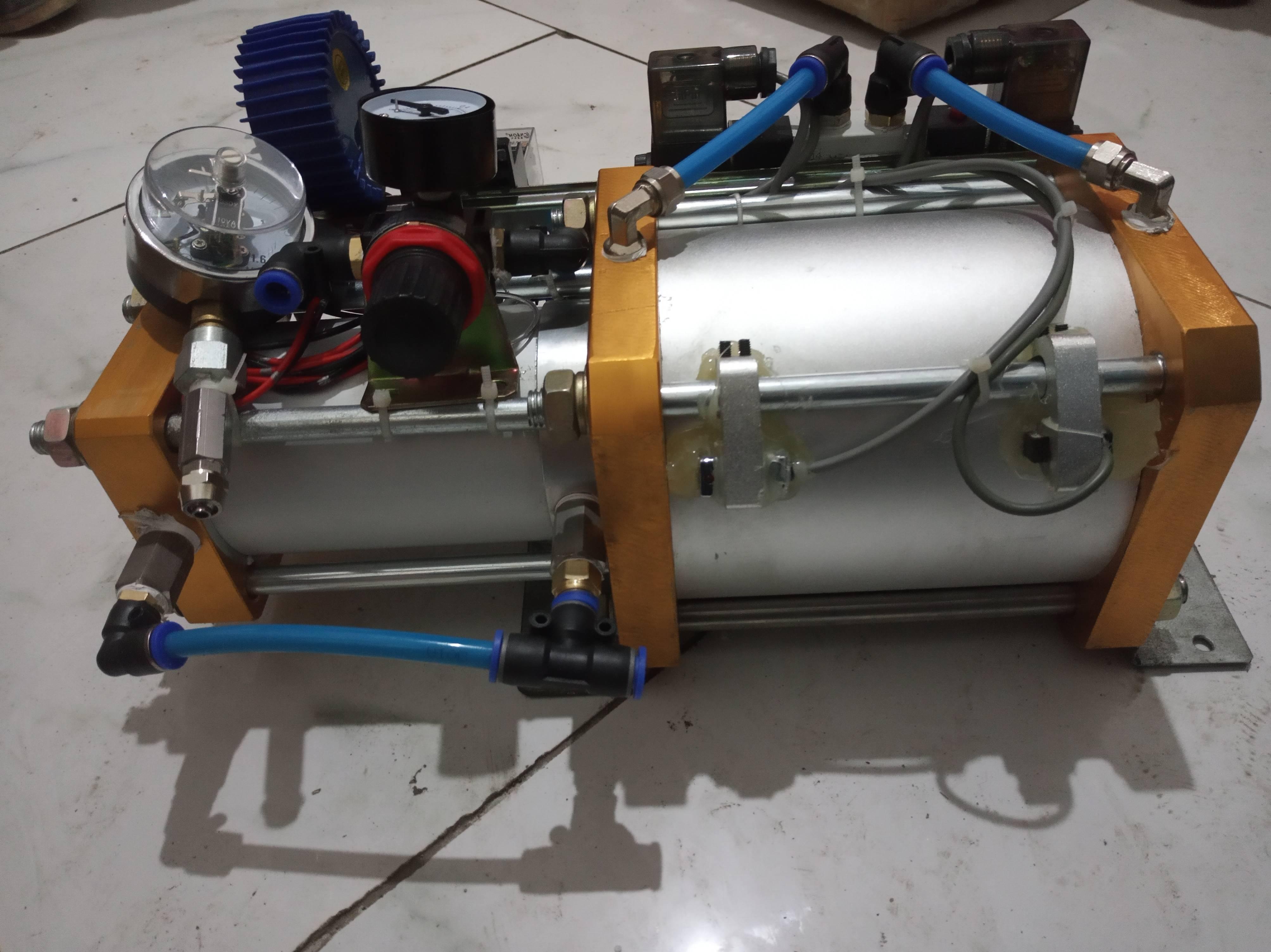 防爆气体增压泵应用-济南欧利特流体提供